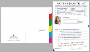 Einladungskarte für Fr. Dr. Thun