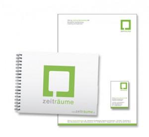 Corporate Design für zeitraeume.at von Mausblau.at
