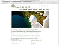 Homepage für Gärtner