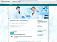 Webdesign Biotechnology
