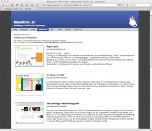 Webdesign-Referenzen