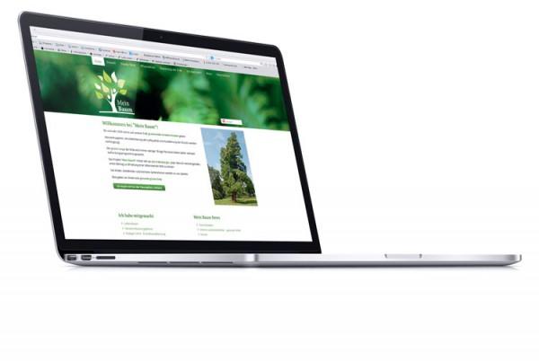 Webdesign: Website mit CMS für mein-baum.at