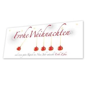 Weihnachtskarte von Mausblau