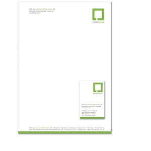 Briefpapier von Mausblau