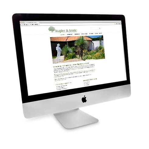 Webdesign mit Content Management von Mausblau