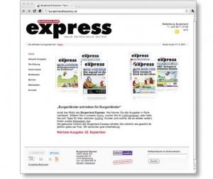 Burgenland Express Homepage