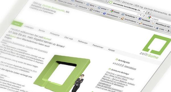Zeitraeume-Mausblau-Webdesign