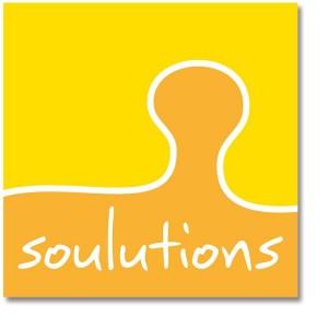zu sehen ist das Logo von soulutions von Mausblau.at aus dem Burgenland