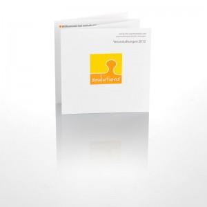 Folder und Flyer von Mausblau, Burgenland