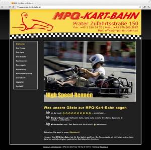 MPQ-Kart-Bahn-Webdesign von Mausblau.at