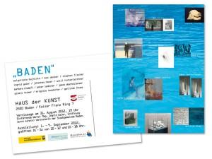 Ausstellung in Baden mit Unterstützung von Mausblau