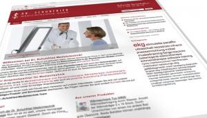 Neue Website für Schuhfried Medizintechnik von Mausblau