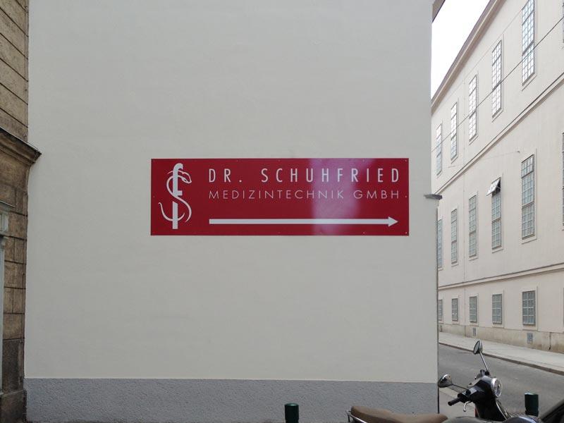 Reklametafel-Aluminium-Wien