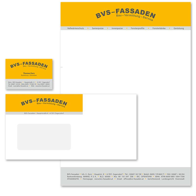 Drucksorten: Briefpapier, Visitenkarte, Kuvert von Mausblau