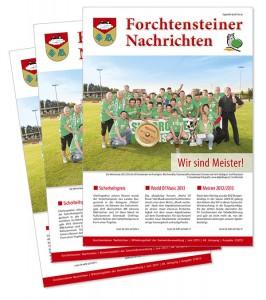 Gemeindezeitung von der Werbeagentur Mausblau, Burgenland