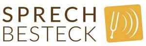Das neue Logo von Sprechbesteck-Stimme-Sprechen-Präsentieren