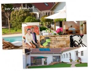 Flyer (PR-Karte): Layout von Mausblau