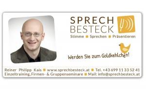 Gestalung-Layout für das Inserat, Mausblau, Agentur im Burgenland