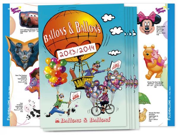Katalog (Broschüre)-Layout von Mausblau