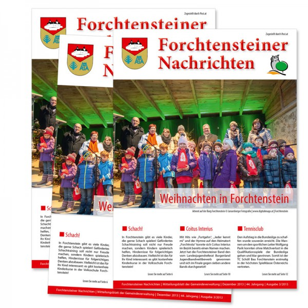 Gemeindezeitung Produktion Burgenland, Forchtenstein