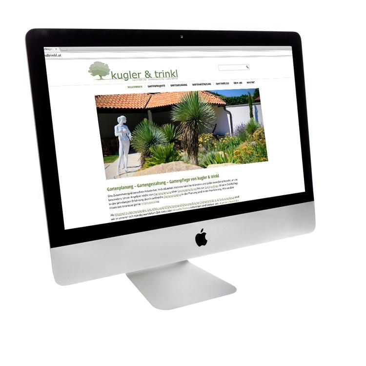 Webdesign Burgenland für Garten Gestaltung