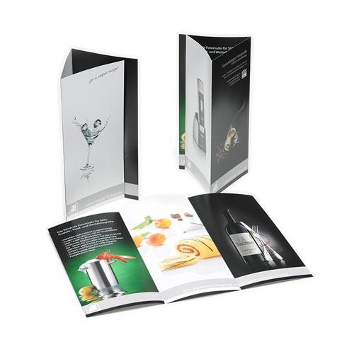 Flyer, Folder und Broschüren von Mausblau