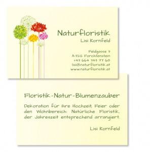 Visitenkarte Drucksorten Mattersburg