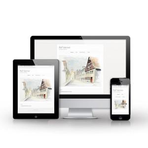 Responsive Webdesign mit WordPress (Webdesign Mattersburg)