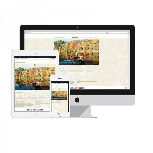 Responsive Webdesign aus dem Burgenland mit WordPress von Mausblau
