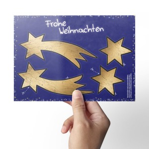 Weihnachtskarte-Flyer-ausschneiden-basteln-Grafik-Burgenland
