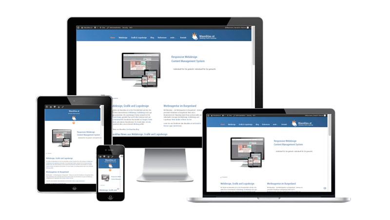 Responsive Webdesign, Burgenland