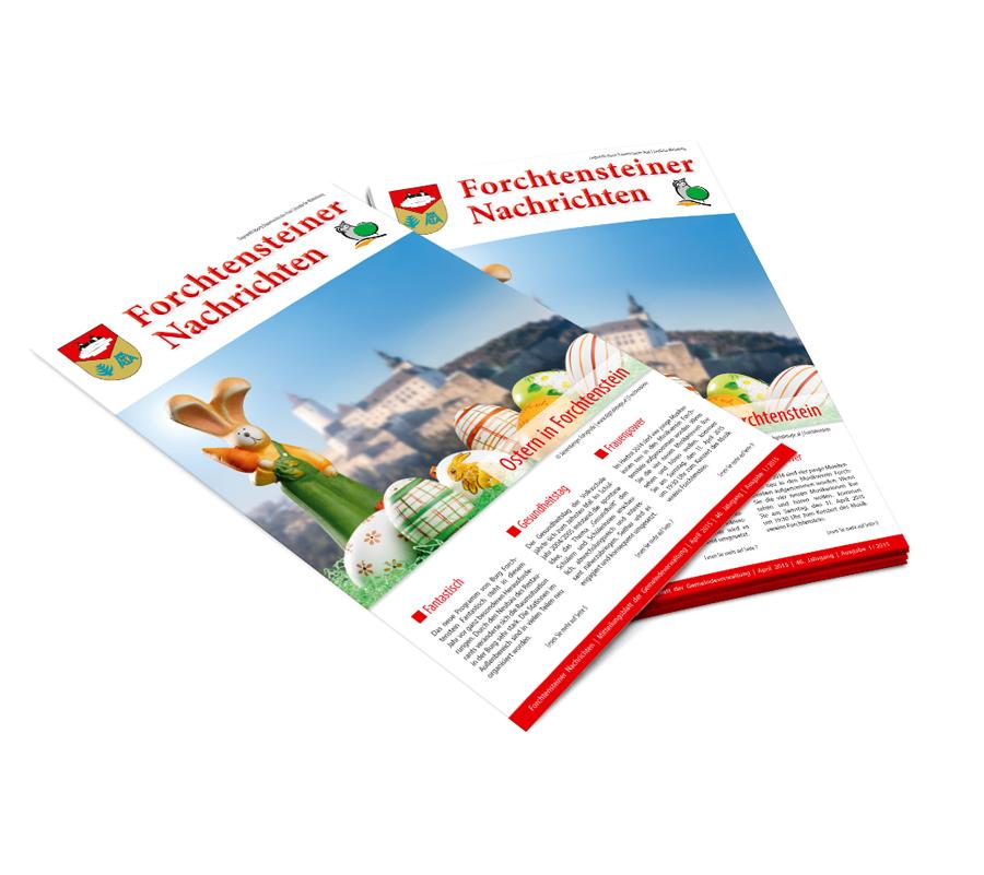 Gemeindezeitung: Grafiker Nordburgenland