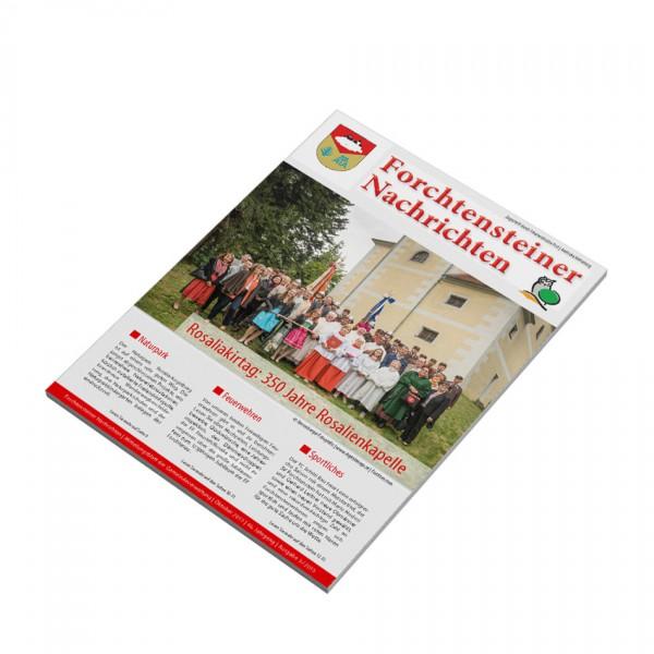 Katalog-Broschüre: Layout, Druck und Produktion im Burgenland