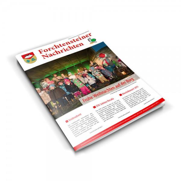 Zeitung-Broschuere, Produktion und Layout, Burgenland
