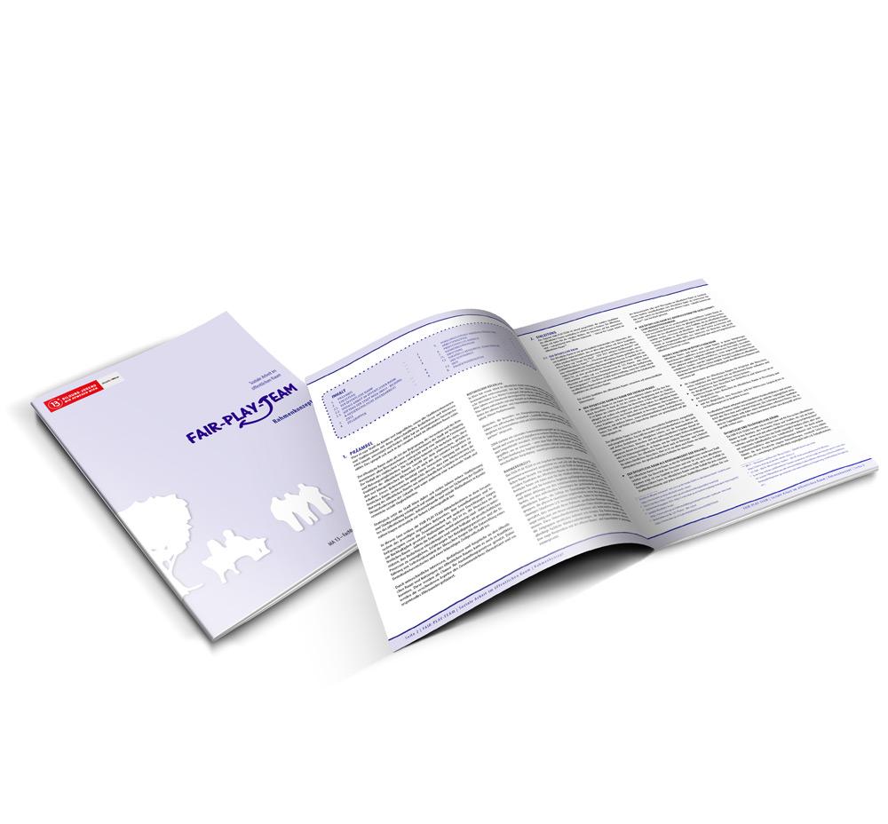 Broschüre-Layout, Grafiker Burgenland