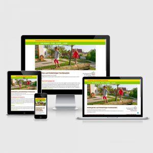 kindergarten Homepage mit Responsive-Webdesign und Blog