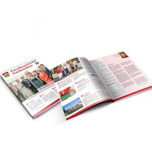 Zeitung, Broschüre, Katalog mit Produktion im Burgenland
