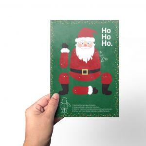 Weihnachte Flyer zum Bsteln