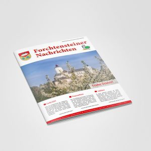 Broschüre - Zeitung: Produktion und Layout-Mattersburg-Burgenland