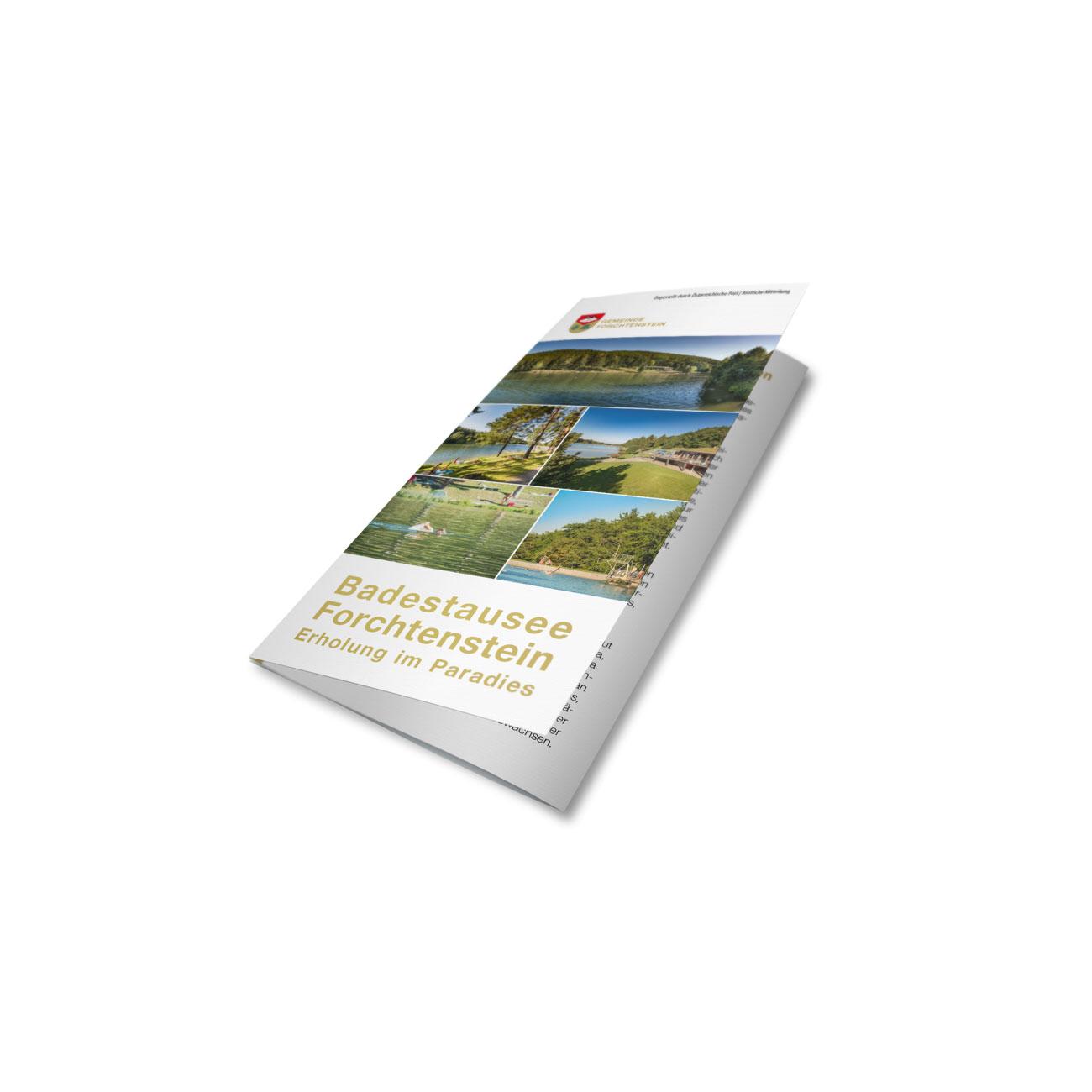 Bild zum Artikel Folder für Tourismus