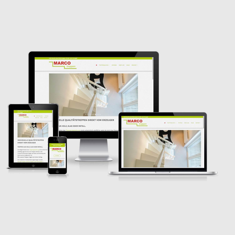 Bild zum Artikel Neue Homepage für Marco Treppen