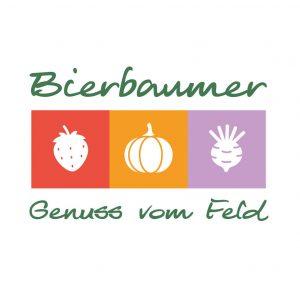 """Frau Aurelia Bierbaumer aus Forchtenstein - dem Heimatort der Werbeagentur Mausblau für Webdesign, Grafikdersign und Logodesign - wünschte sich ein Logo, um Ihre Produkte im Rahgmen der """"Bäuerlichen Direktvermarktung"""" adäquat zu präsentieren . Ihr Angebot umfasst Obst und Gemüse, das auf ihren Feldern in Forchtenstein wächst und gedeiht. Dazu gehören Erdbeeren, Kürbisse und Rüben - und genau diese finden sich im Logo wieder. :-) Genuss vom Feld - das Logo macht Appetit Die Farben des Logos sind an die drei Hauptprodukte angepasst, die Schrift wird in """"gesundem"""" Grün dargestellt. Das Logo ist modern, persönlich und auf die Zielgruppe abgestimmt, der Schriftzug mit dem Familiennamen und dem Claim macht Appetit auf den gesunden Genuss vom Feld."""