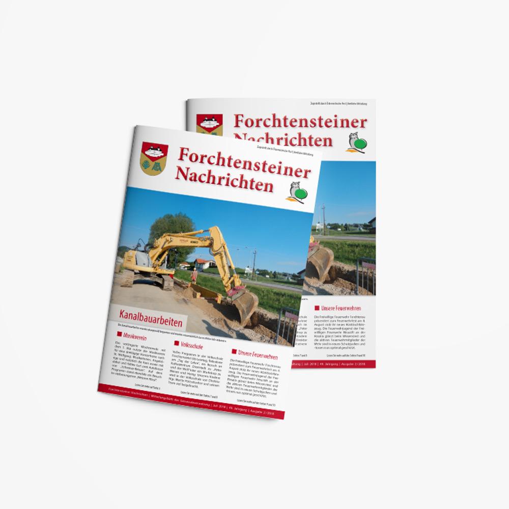 Bild zum Artikel Die Gemeindezeitung Forchtenstein
