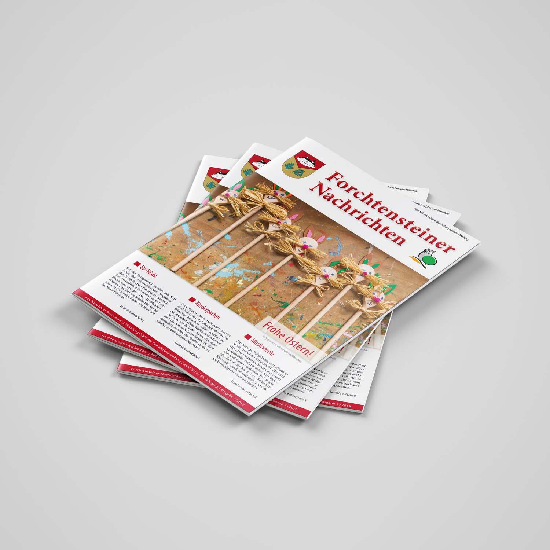 Bild zum Artikel Frohe Ostern! Die Gemeindezeitung Forchtenstein ist erschienen