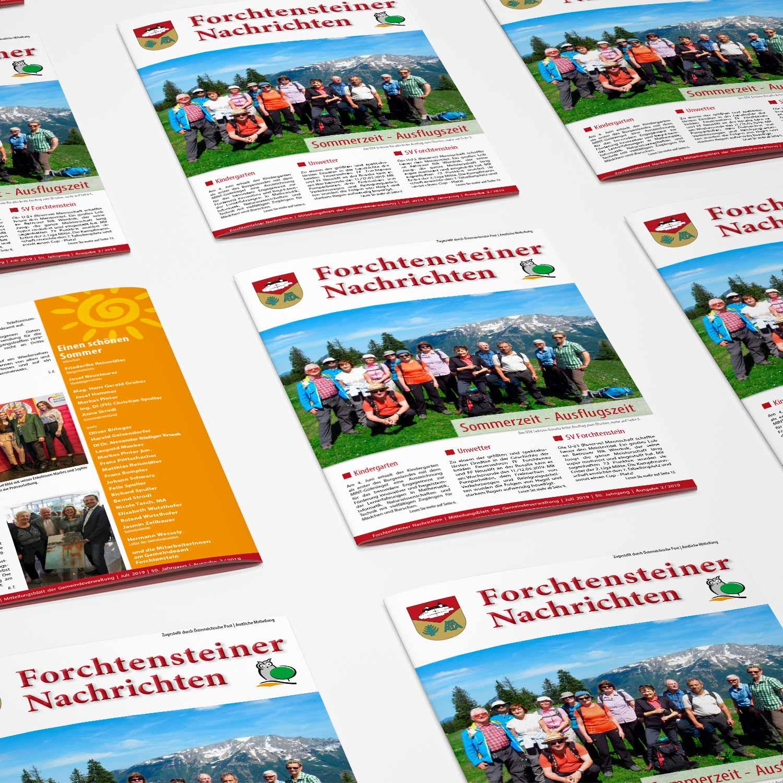 Zeitung: Produktion und Layout, Burgenland