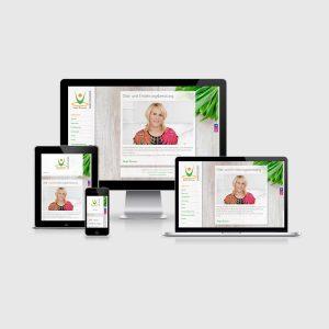 Webdesign / Homepage für Diaetberatung Burgenland