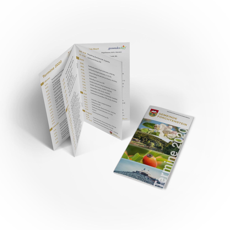 Bild zum Artikel Kalender 2020 für die Gemeinde Forchtenstein