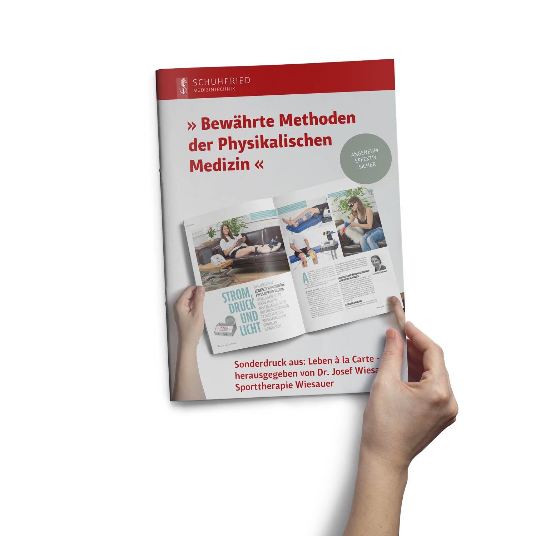 Bild zum Artikel Folder für Schuhfried Medizintechnik