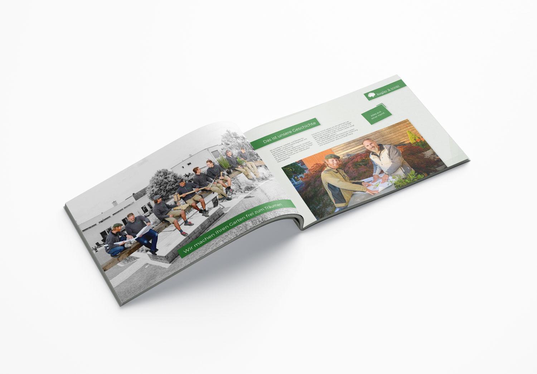 Bild zum Artikel Imagebroschüre im Sonderformat für kugler & trinkl